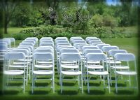 Chairs,Tables,Kids chairs,Chafing Dish,Tablecloth RENTAL!!