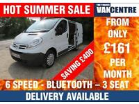 NISSAN PRIMASTAR 2700 SE SWB 2.0 DCI 115 BHP 6 SPEED ELECTRIC PACK BLUETOOTH