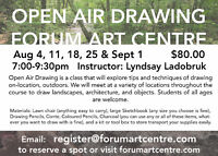 Draw Outdoors this Summer -- 5 evening workshop