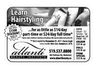 Learn Hairstyling from $27/Day