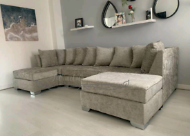 [Sunday Only Discount] U shaped sofa. Now at an Unbelievably low price