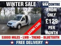 FORD TRANSIT CONNECT TREND 230 LWB HIGH ROOF BLUE TOOTH WAS £7270 SAVE £600