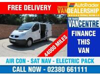 RENAULT TRAFIC SL27 DCI SWB 115 BHP AIR CON SAT NAV ELECTRIC PACK 3 SEATS