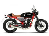 HANWAY HC125 BLACK CAFE RACER PRE REG UNIT VERY LIMITED STOCK WITH BIG SAVINGS