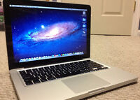 "Macbook Pro 13"" like new i5-2415m, 4-16g memory 2g graphic card"