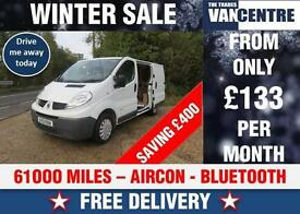 RENAULT TRAFIC SL27 DCI 115 BHP AIR CON BLUETOOTH WAS £7270 SAVE £400