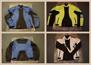 Men's Motorcycle Polyester Jackets - Assorted designs and sizes