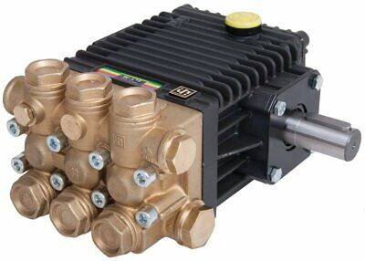 Interpump W130m High Pressure Pump Male Solid Shaft 130 Bar 1885psi 9.5 Lpm
