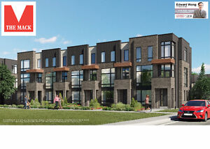 THE MACK FREEHOLD TOWNHOMES AT MAJOR MACKENZIE & 400 IN VAUGHAN