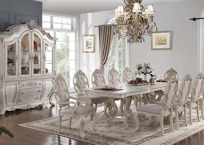 Acme Furniture Regenardus 9 Piece Dining Room Table Set (Acme Furniture Set Table)