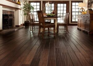 Extra Wide HICKORY Hardwood Flooring only $3.96sf