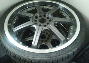 """19"""" Multi-fit (4X/5X) Rims and Tires"""