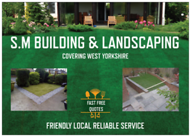 BUILDING / GARDEN LANDSCAPING / FENCING / WALLS / PATIOS ETC