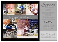 Special introductory Offer~ Sports Photography