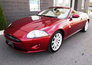Lovely 2007 Jaguar XK Roadster...May look at trades