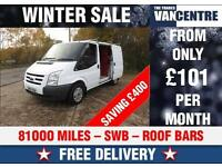 FORD TRANSIT SWB 2.2 TDCI BLUETOOTH ELECTRIC WINDOWS WAS £5570 SAVE £400