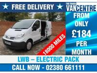 NISSAN PRIMASTER DCI SE LWB 115 BHP ELECTRIC PACK 3 SEATS