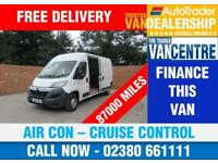 CITROEN RELAY 35 L3 H2 ENTERPRISE LWB 129 BHP AIR CON CRUISE CONTROL 3 SEATS