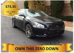 2012 Nissan Maxima  ONLY $73.35 + TAX A WEEK - OAC