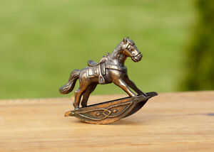 BRASS & PORCELAIN COLLECTIBLE HORSES Kingston Kingston Area image 3