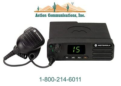 New Motorola Xpr 5350 Vhf 136-174 Mhz 45 Watt 32 Channel Two Way Radio
