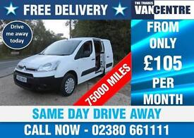 CITROEN BERLINGO SWB 1.6 HDI ENTERPRISE AIR CON 3 SEAT