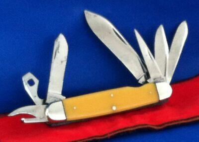 Vintage 1930'S KaBar Seven (7) Blade Knife / Tool