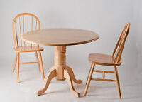 Beautiful Oak Table and Chair Set - Perfect condition!