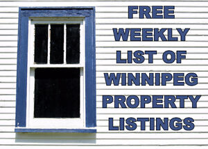 Homes Available in Winnipeg