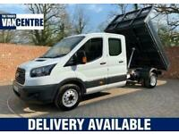 2017 Ford Transit 350 Tipper Double Cab Tool Area Tipper Diesel Manual