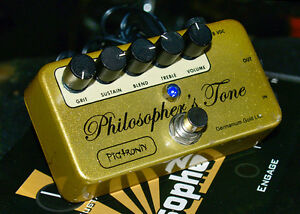 Pigtronix Philosophers Tone Compressor Sustainer and Boost Pedal