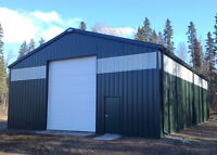 GET THAT STEEL BUILDING ORDERED BEFORE WINTER!!