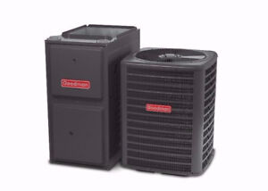 HIGH EFFICIENCY FURNACE & AIR CONDITIONERS - FREE INSTALLATION