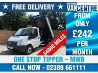 FORD TRANSIT 350 2.2 TDCI MWB ONE WAY TIPPER ONE STOP 3 SEATS