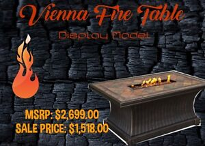 FIRE TABLE FLOOR MODEL