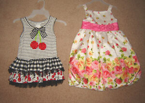 Dresses, Swimsuits, Clothes - sizes 5, 6