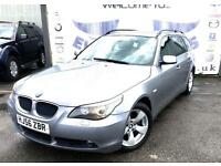 2006 BMW 5 SERIES 520D SE TOURING AUTOMATIC DIESEL FULL SERVICE HISTORY LAST AT