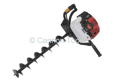 49cc two stroke petrol earth auger with 1 x 100mm drill bit, free delivery 2293