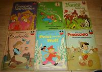 6 antique classic original childrens books book lot retro old