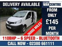 NISSAN NV200 1.5 DCI SE 110 BHP REAR CAMERA BLUETOOTH TWIN SIDE DOORS