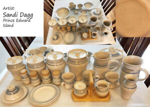NEW 27-Piece Beautiful Ceramic Pottery Dishes from PEI