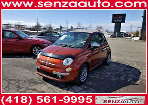2013 FIAT 500C  LOUNGE  AUTOMATIQUE  DECAPOTABLE  /  CABRIOLET