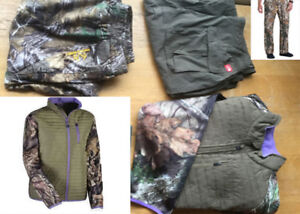 Men's yukon jacket and Realtree pants. New