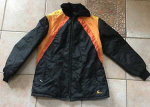 Vintage 1970's SKI-DOO Snowmobille Jacket Mint Condition Size 14