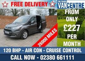 FORD TRANSIT CONNECT 200 L1 H1 LIMITED SWB 120 BHP AIR CON CRUISE CONTROL 3 SEAT