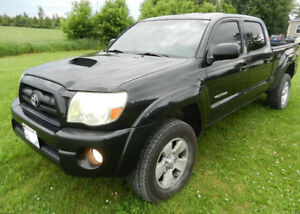 TACOMA SR5 SPORT DOUBLE CAB NEW CHASSIS TRADE IN WELCOME