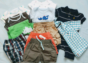Boys Clothing Lots: EUC Range in size from 6M - 24M/2T