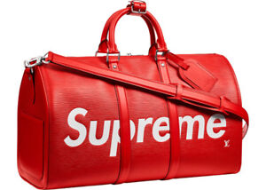 Louis Vuitton x Supreme Keepall Bandouliere - Edition Limited