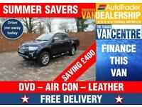 MITSUBISHI L200 BARBARIAN DOUBLECAB 175 BHP DVD AIR CON LEATHER