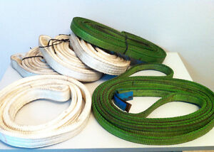 Heavy Duty Tow Straps with Loop Ends